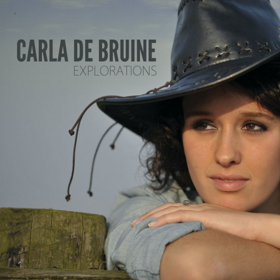 CD Cover - Explorations - Carla de Bruine
