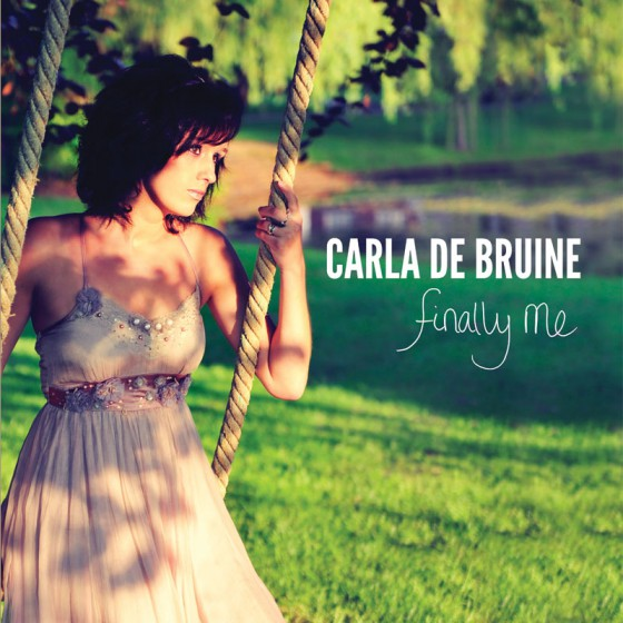 CD Cover Carla de Bruine - Finally Me